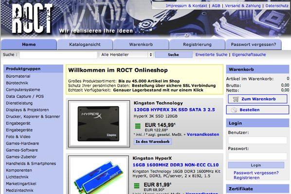 Web-Roctshop