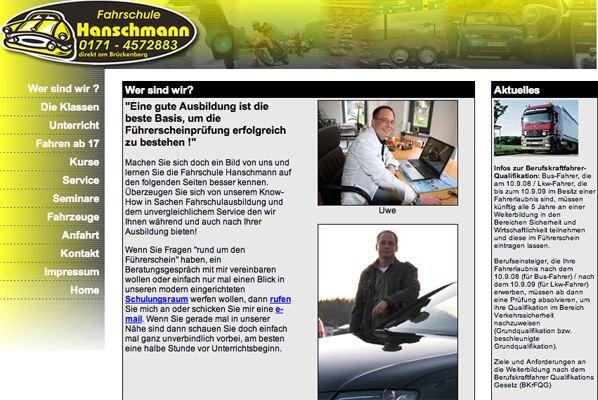 Web-Fahrschule-Hanschmann