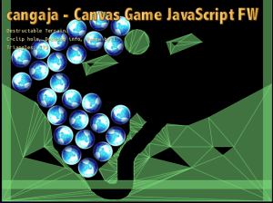 Destructible terrain in JavaScript