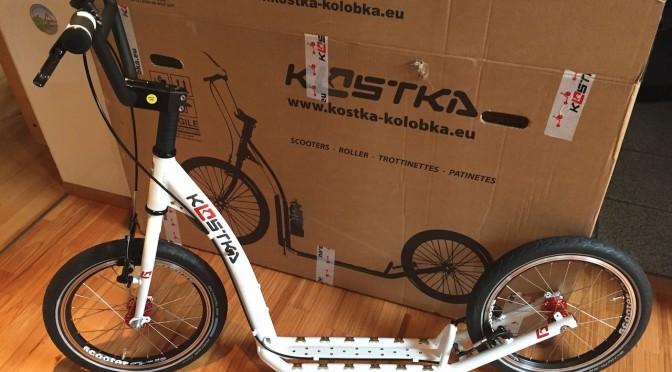 Tretroller-Scooter: Kostka Street Fold im Vergleich mit Hudora BigWheel Air
